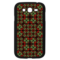 Asian Ornate Patchwork Pattern Samsung Galaxy Grand DUOS I9082 Case (Black)