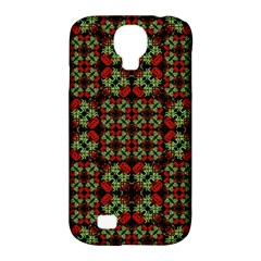 Asian Ornate Patchwork Pattern Samsung Galaxy S4 Classic Hardshell Case (PC+Silicone)