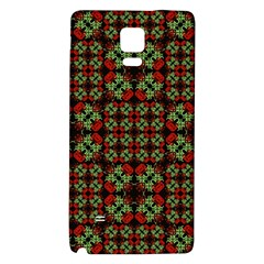Asian Ornate Patchwork Pattern Galaxy Note 4 Back Case