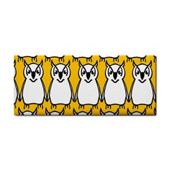 Yellow Owl Background Cosmetic Storage Cases