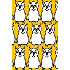 Yellow Owl Background 5 5  X 8 5  Notebooks