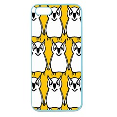 Yellow Owl Background Apple Seamless iPhone 5 Case (Color)