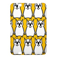 Yellow Owl Background Kindle Fire HD 8.9