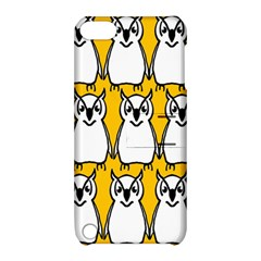 Yellow Owl Background Apple iPod Touch 5 Hardshell Case with Stand