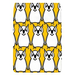 Yellow Owl Background Flap Covers (S)