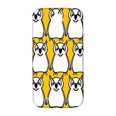 Yellow Owl Background Samsung Galaxy S4 I9500/i9505  Hardshell Back Case