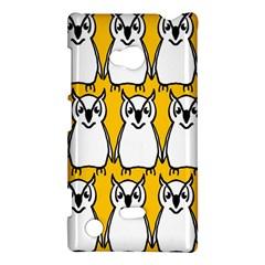 Yellow Owl Background Nokia Lumia 720