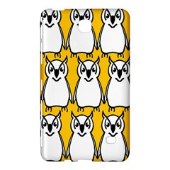 Yellow Owl Background Samsung Galaxy Tab 4 (7 ) Hardshell Case
