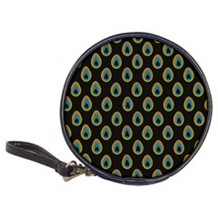 Peacock Inspired Background Classic 20 Cd Wallets