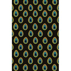 Peacock Inspired Background 5 5  X 8 5  Notebooks