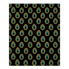 Peacock Inspired Background Shower Curtain 60  X 72  (medium)