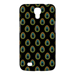 Peacock Inspired Background Samsung Galaxy Mega 6.3  I9200 Hardshell Case