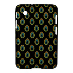 Peacock Inspired Background Samsung Galaxy Tab 2 (7 ) P3100 Hardshell Case