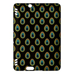 Peacock Inspired Background Kindle Fire HDX Hardshell Case