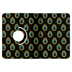 Peacock Inspired Background Kindle Fire HDX Flip 360 Case