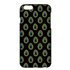 Peacock Inspired Background Apple iPhone 6 Plus/6S Plus Hardshell Case