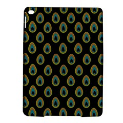 Peacock Inspired Background iPad Air 2 Hardshell Cases
