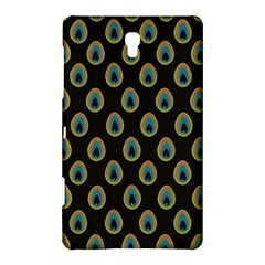 Peacock Inspired Background Samsung Galaxy Tab S (8 4 ) Hardshell Case