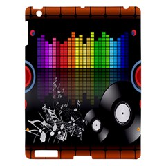 Music Pattern Apple iPad 3/4 Hardshell Case