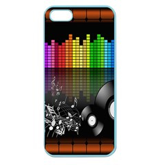 Music Pattern Apple Seamless Iphone 5 Case (color)