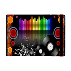 Music Pattern Apple iPad Mini Flip Case