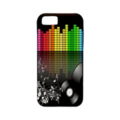 Music Pattern Apple iPhone 5 Classic Hardshell Case (PC+Silicone)