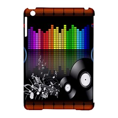 Music Pattern Apple iPad Mini Hardshell Case (Compatible with Smart Cover)