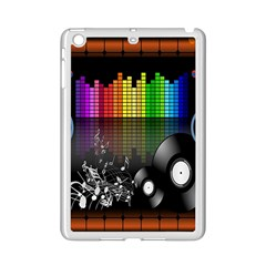 Music Pattern iPad Mini 2 Enamel Coated Cases