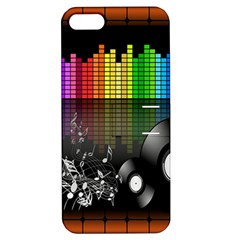 Music Pattern Apple iPhone 5 Hardshell Case with Stand