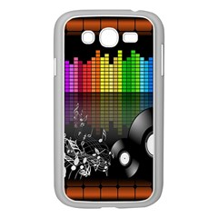 Music Pattern Samsung Galaxy Grand DUOS I9082 Case (White)