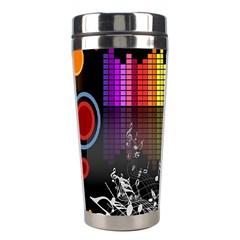 Music Pattern Stainless Steel Travel Tumblers