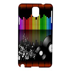 Music Pattern Samsung Galaxy Note 3 N9005 Hardshell Case