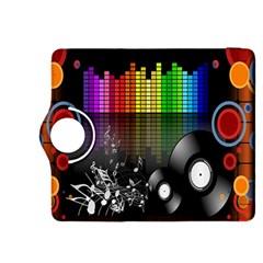Music Pattern Kindle Fire HDX 8.9  Flip 360 Case