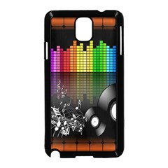 Music Pattern Samsung Galaxy Note 3 Neo Hardshell Case (Black)