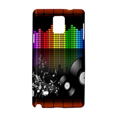 Music Pattern Samsung Galaxy Note 4 Hardshell Case