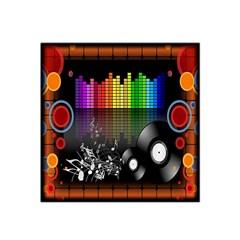 Music Pattern Satin Bandana Scarf