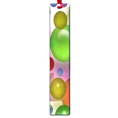 Colorful Bubbles Squares Background Large Book Marks