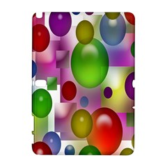 Colorful Bubbles Squares Background Galaxy Note 1