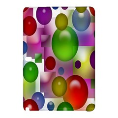 Colorful Bubbles Squares Background Samsung Galaxy Tab Pro 10.1 Hardshell Case