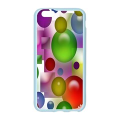 Colorful Bubbles Squares Background Apple Seamless iPhone 6/6S Case (Color)