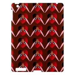 Peacocks Bird Pattern Apple iPad 3/4 Hardshell Case