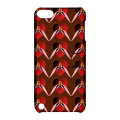 Peacocks Bird Pattern Apple iPod Touch 5 Hardshell Case with Stand