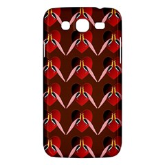 Peacocks Bird Pattern Samsung Galaxy Mega 5.8 I9152 Hardshell Case