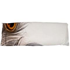 Peacock Feathery Background Body Pillow Case Dakimakura (Two Sides)