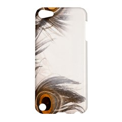 Peacock Feathery Background Apple iPod Touch 5 Hardshell Case