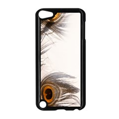 Peacock Feathery Background Apple Ipod Touch 5 Case (black)