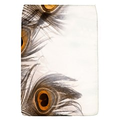 Peacock Feathery Background Flap Covers (S)