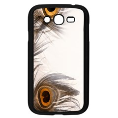 Peacock Feathery Background Samsung Galaxy Grand DUOS I9082 Case (Black)