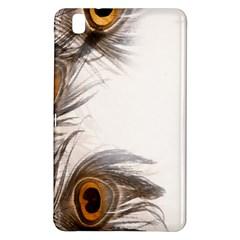 Peacock Feathery Background Samsung Galaxy Tab Pro 8.4 Hardshell Case
