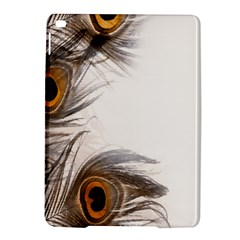 Peacock Feathery Background iPad Air 2 Hardshell Cases